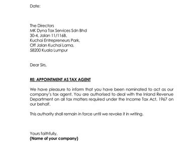Sample Agent Appointment Letters 8 Examples  Templates