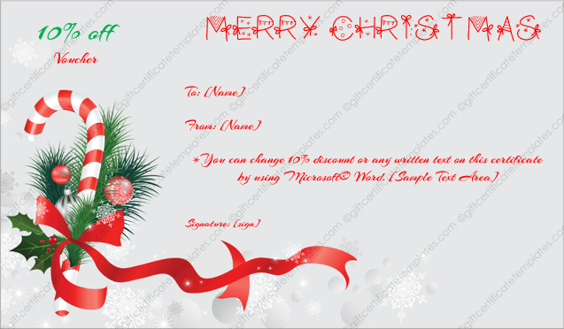word christmas card templates free