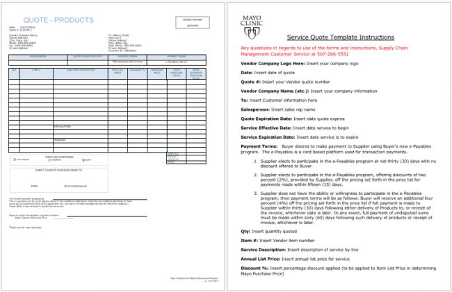 job request template