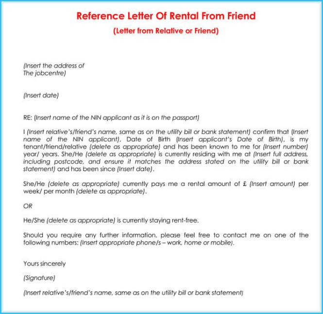 Al Reference Letter 9 Sample