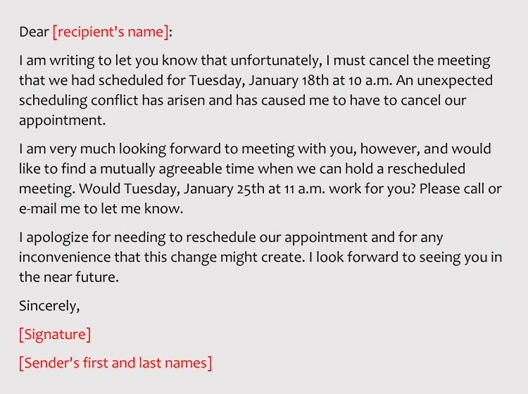 4 Best Sample Emails To Reschedule Business Meeting