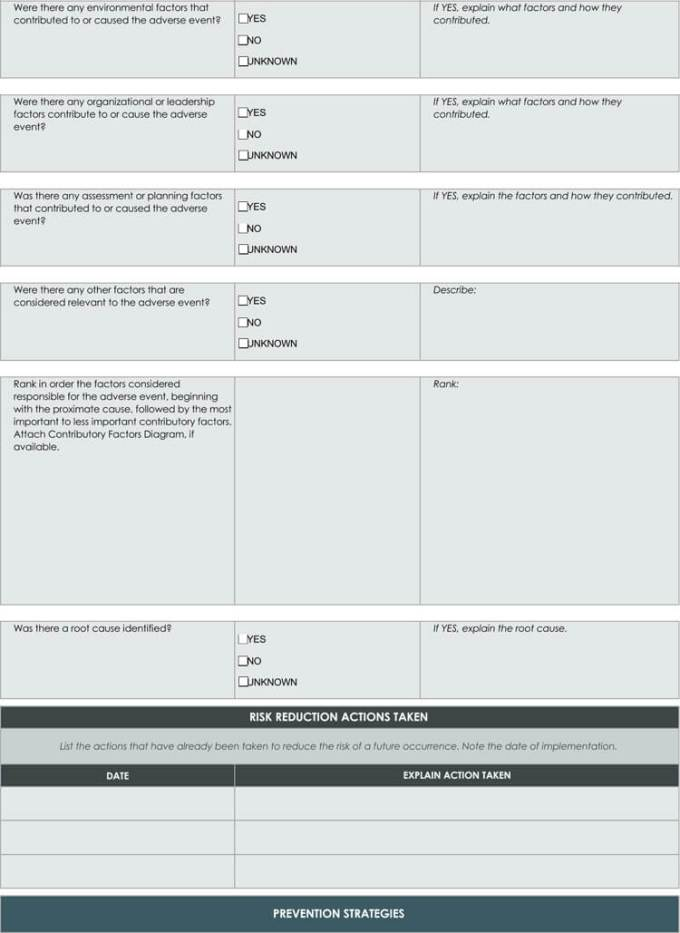 24+ root cause analysis templates (word, excel, powerpoint and pdf).