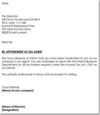Agent Appointment Letter Template - 8+ Best Samples in PDF ...
