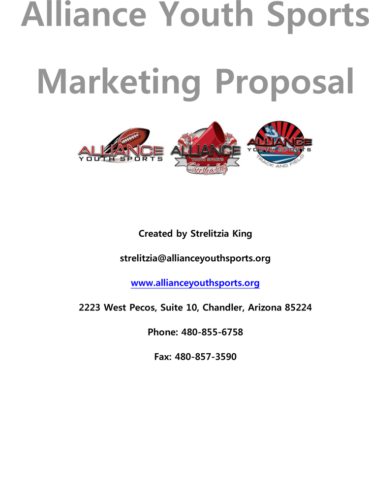 Writing a Sports Sponsorship Application (with Samples
