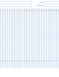 Student Attendance Sheet Template ( Monthly Basis)