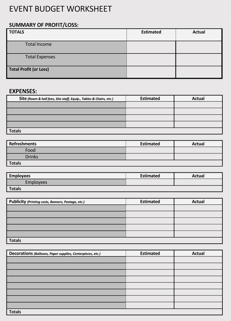 budget template google sheets