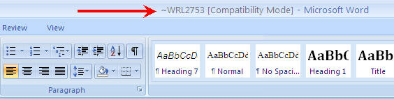 How to Find Lost MS Word files - Step 6