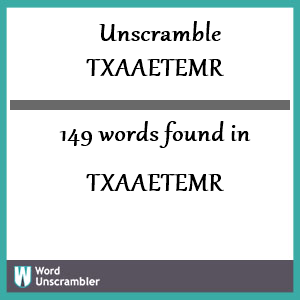 Word Unscrambler - Unscramble Words & Letters Instantly