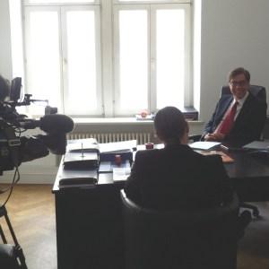 SRF Besuch Achim von Michel Energiewende
