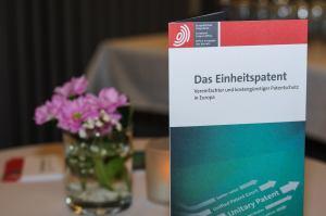 Infobroschüre zum Europäischen Einheitspatent