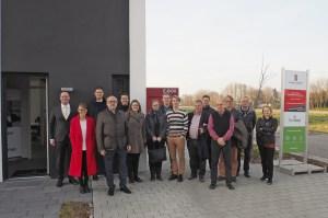 Foto dynahaus Finnische Delegation