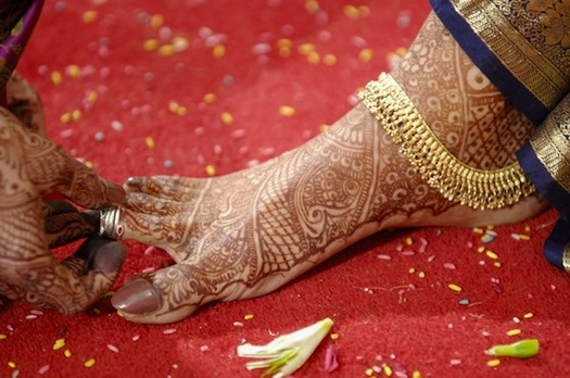 toe-ring-for-indian-bride