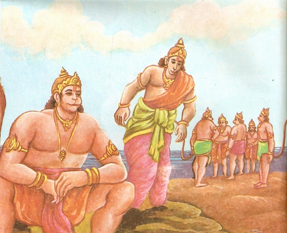 Ramayana Part-6  Meeting Hanuman  (22)