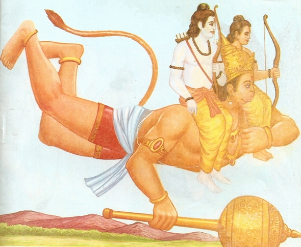 Ramayana Part-6  Meeting Hanuman  (5)