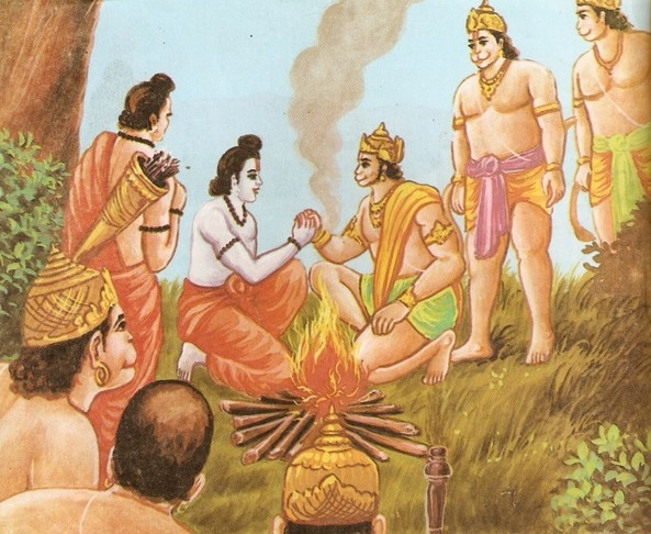 Ramayana Part-6  Meeting Hanuman  (8)