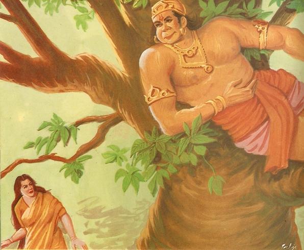 Ramayana Part-7  Lanka Dahan (10)