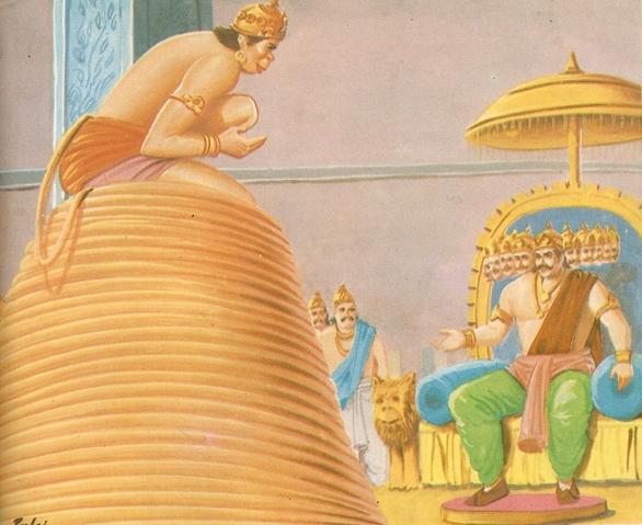 Ramayana Part-7  Lanka Dahan (17)
