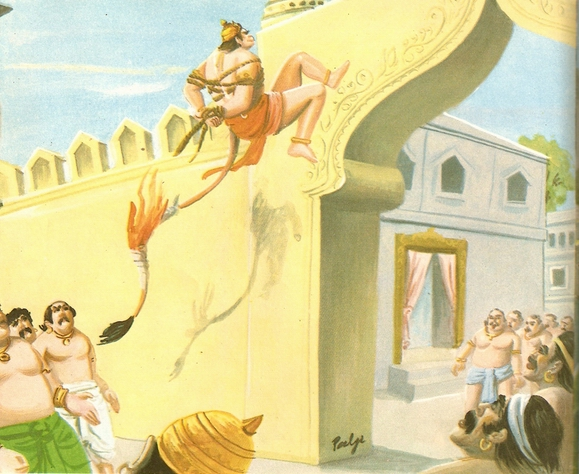 Ramayana Part-7  Lanka Dahan (20)