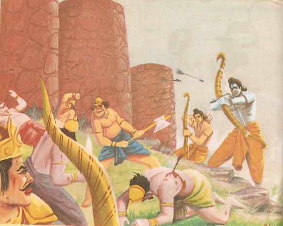 Ramayana Part-7 Lanka Yudh (16)