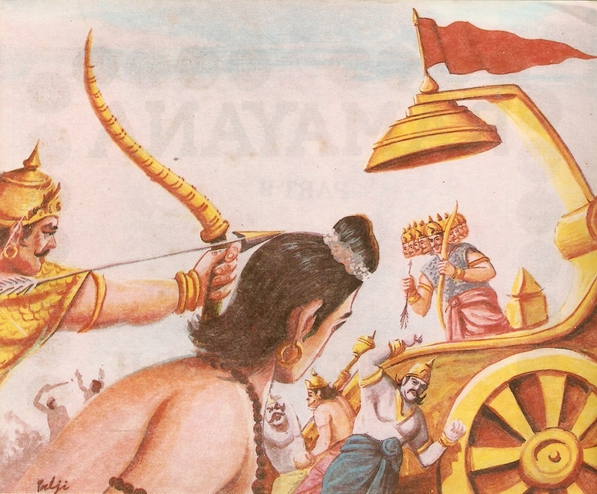 Ramayana Part-9  Lanka Vijay (2)