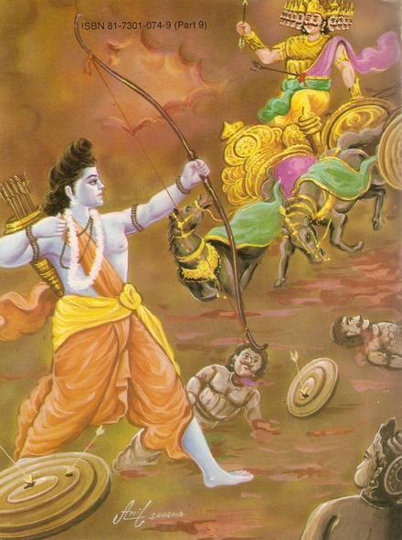 Ramayana Part-9  Lanka Vijay (25)