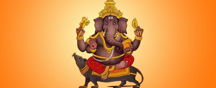 Dhumravarna - 8 Avatars of Lord Ganesha
