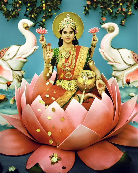 Lakshmi Maa Look