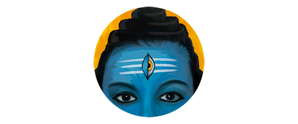 Shiva Third Eye