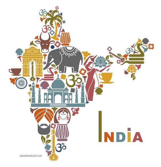 Symbolic Colors of India