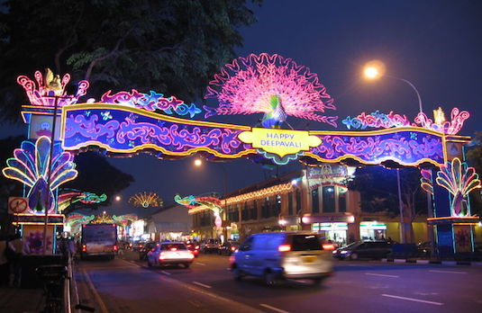 Happy Deepavali Decorations in Singapore | How Diwali Is Celebrated Outside India