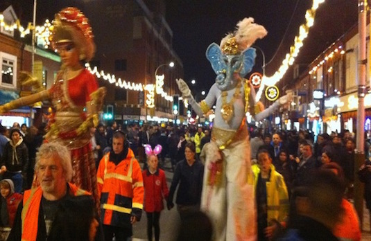 Diwali Carnival in the UK | How Diwali Is Celebrated Outside India