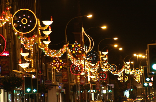 Diwali Lights in the UK | How Diwali Is Celebrated Outside India