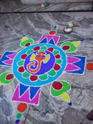 Ganesha Rangoli 13