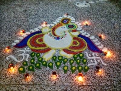 Ganesha Rangoli 22
