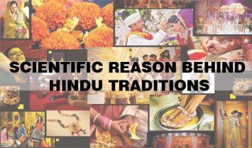 Reasons behind hindu traditions