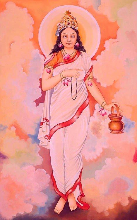 Maa Brahmacharini, GaneshaSpeaks.com