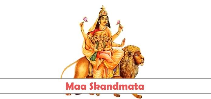 Maa Skandmata Fifth Form of Nava Durgas - नवरात्रि स्कंदमाता की पूजा : Navratri Skandmata Ki Puja