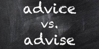 advice-vs-advise