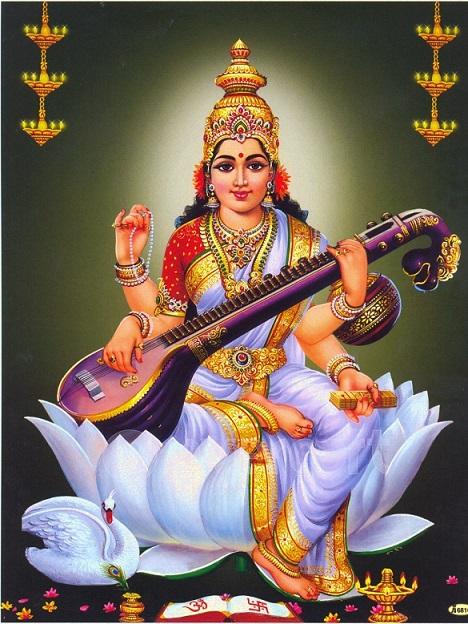 saraswati maa1 - Saraswati Mata Image Collection 1