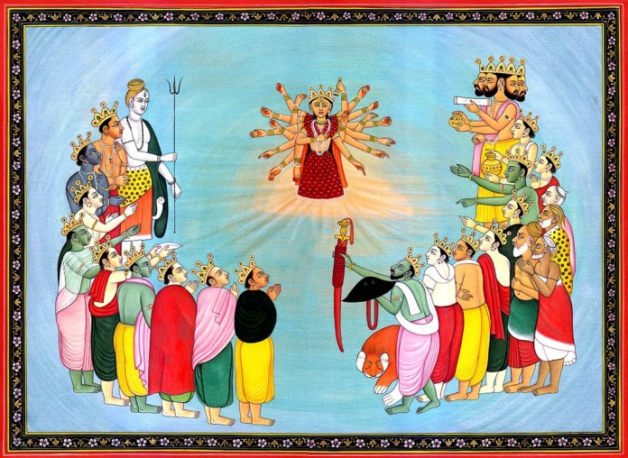the birth of durga - How Maa Durga was born of the mighty Gods