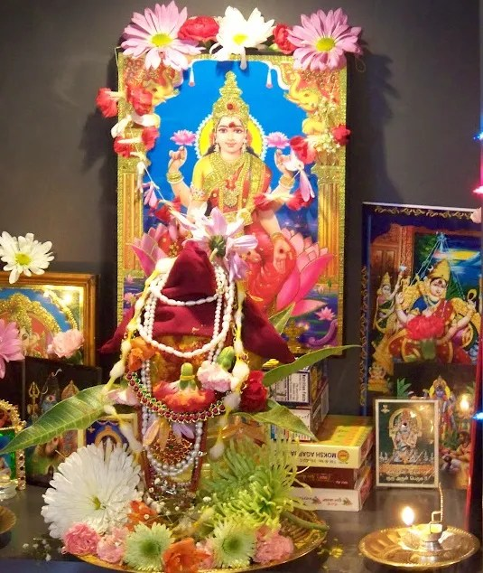 home decoration ideas for pooja how to perform varalakshmi puja wordzz 12763