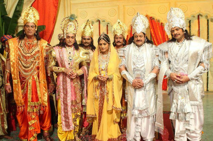 The Cast Of B R Chopra S Mahabharata Then And Now Wordzz