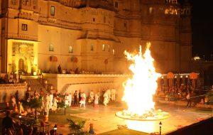 Holika Dahan ritual 2017