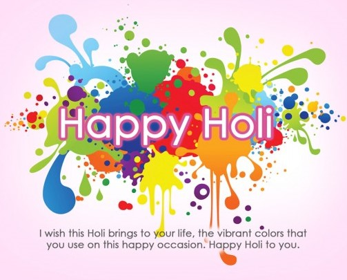 Holi Wishes 2017 Quotes Images