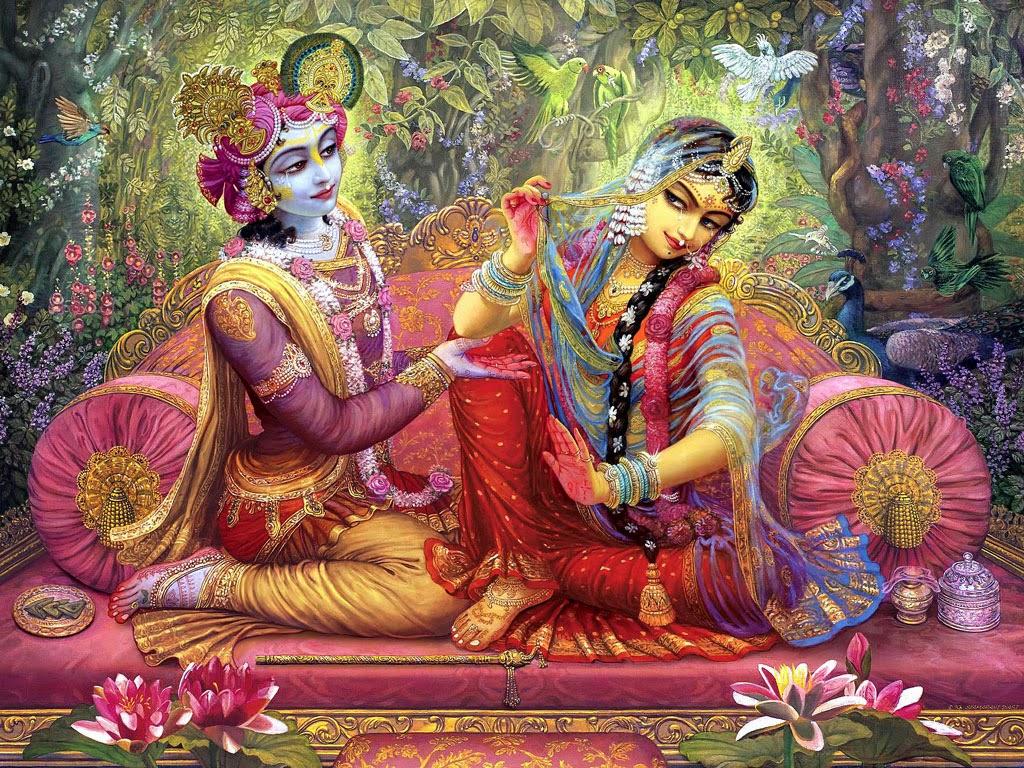 Radha Krishna HD Background
