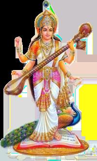 Saraswati-PNG-Clipart