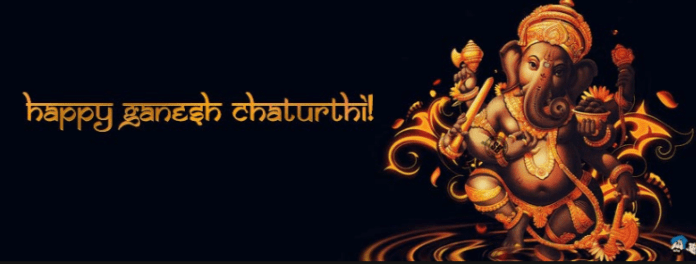 Happy Ganesh Chaturthi Picture for Facebook Cover