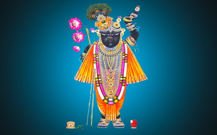 Shrinathji god wide HD wallpapers - God Shreenathji HD Wallpapers