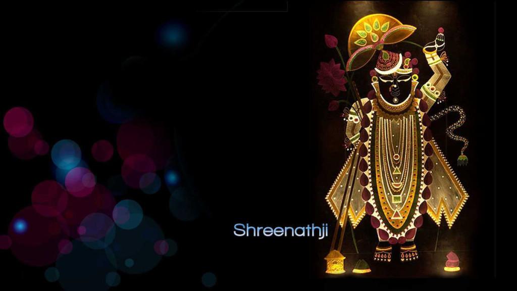 Beautiful art of lord Shreenathji