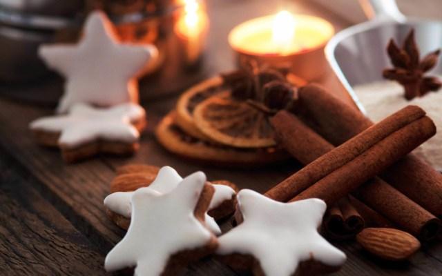 Tasty Christmas cookies star